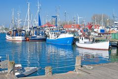 Burgstaaken,Fehmarn Island,baltic Sea,Germany Stock Image