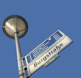 Burgstrasse in Berlin Stock Image