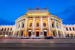Burgteather, вена, Австрия Стоковые Фото