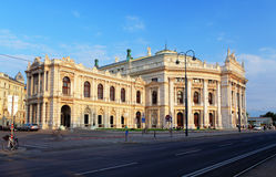 Burgtheater is the Austrian National Theatre Stock Image