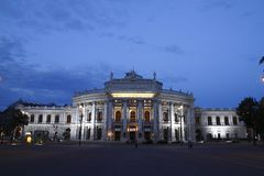 The Burgtheater Stock Image