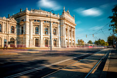 Burgtheater building in Vienna Royalty Free Stock Images