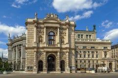 Burgtheater en Viena, Austria foto de archivo libre de regalías