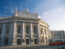 The Burgtheater Imperial Court Theater. The Hofburgtheater Imperial Court Theater in Vienna, Austria Royalty Free Stock Image
