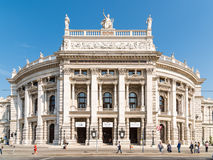 The Burgtheater (Imperial Court Theater) In Vienna Stock Images