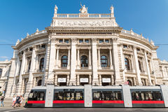 The Burgtheater (Imperial Court Theater) In Vienna Stock Image