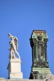 Burgtheater szczegół Wien Obrazy Stock