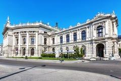 Burgtheater, théâtre national autrichien à Vienne image stock