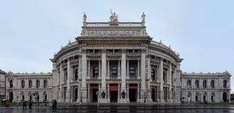 Burgtheater Viena Fotografia de Stock