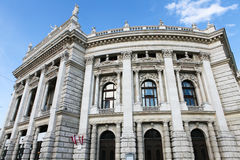 Burgtheater in Vienna Stock Images