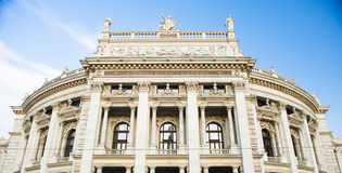 Burgtheater, Vienna Stock Photo