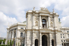 Burgtheater in Vienna Royalty Free Stock Photo