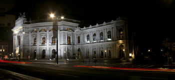 Burgtheater a Vienna Immagine Stock