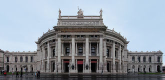 Burgtheater Vienna Stock Photography
