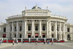Burgtheater, Vienna, Austria Royalty Free Stock Photography