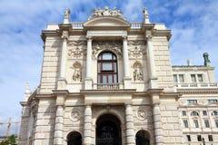 Burgtheater, Vienna Royalty Free Stock Image