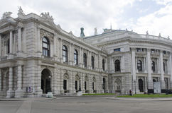 Burgtheater in Vienna Stock Photos