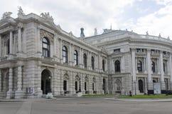 Burgtheater in Vienna stock photos