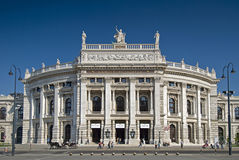 Burgtheater Vienna Royalty Free Stock Image