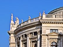 Burgtheater Wien Stock Image