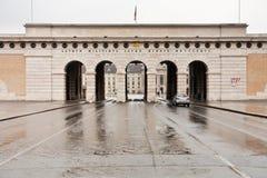 Burgtor em Viena, Áustria Imagens de Stock