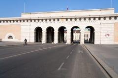 Burgtor (monument) à Vienne, Autriche photo libre de droits