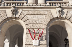 Burgtor, Neue Burg, Hofburg, Vienna, Austria Stock Photography