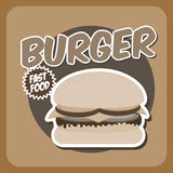 Burguer Royalty Free Stock Photography