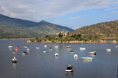 Burguillo Reservoir. Iruelas Valley, Spain Royalty Free Stock Image