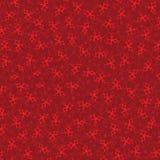 Burgunder-Hintergrund mit roten Sternen Stockbild