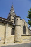 Burgundian Romanesque Church Stock Photo