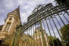 Burgundy, πύργος Corton Καρλομάγνος Γαλλία στοκ εικόνα με δικαίωμα ελεύθερης χρήσης