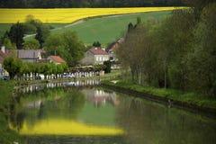 Burgundy τοπίο Στοκ Φωτογραφίες