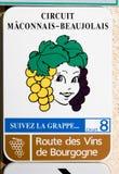 burgundy Fotografia Stock