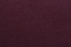 Burgundy czerwona tekstylna tekstura Obrazy Royalty Free