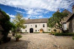 burgundy Den mest berömda världs`en s och värld-berömt vin: Romanée-Conti Frankrike royaltyfri foto