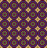 Burgundy ethnic patterns Royalty Free Stock Photo