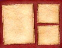 Burgundy Frames Royalty Free Stock Images