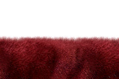 Burgundy fur background Stock Photos