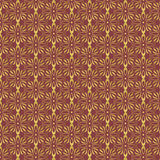 Burgundy and gold foil background. Royalty Free Stock Image