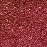 Burgundy koloru skóry tekstura Obraz Royalty Free