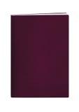 burgundy książkowy paszport Obrazy Stock