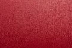 Burgundy red paint leather background Royalty Free Stock Image