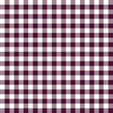 Burgundy red and white plaid vector background. Seamless repeat checkered pattern vector illustration