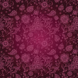 Burgundy seamless pattern Royalty Free Stock Image