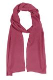 Burgundy silk scarf Stock Photos