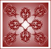 Burgundy tile Royalty Free Stock Photo