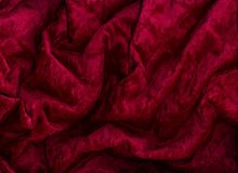 Burgundy velvet Royalty Free Stock Images
