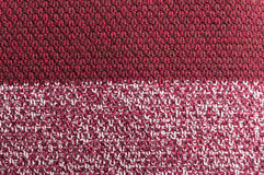 Burgundy wool crocheted texture or patern Royalty Free Stock Photo