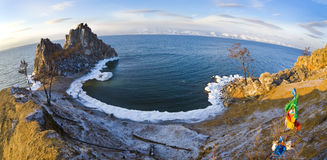 Burhan, Baikal stock photo